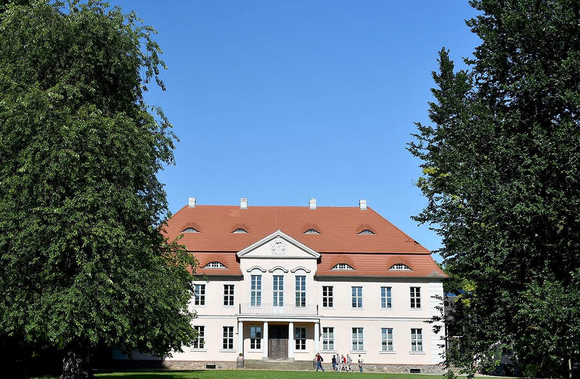 Das Schloss im Lenne Park in Criewen (Foto: dpa-Zentralbild)